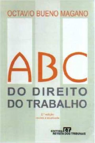 Capa de ABC do direito do trabalho - Octavio Bueno Magano