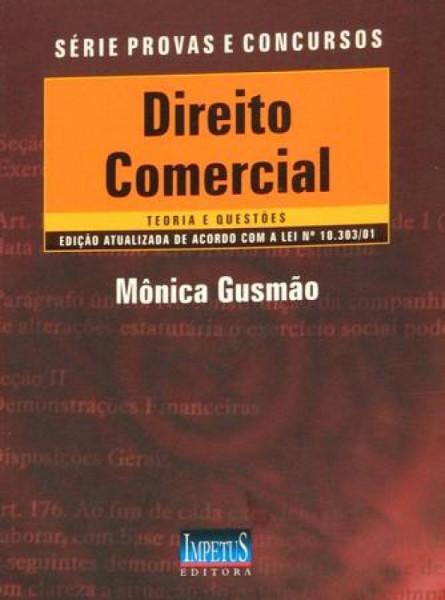 Capa de Direito Comercial -