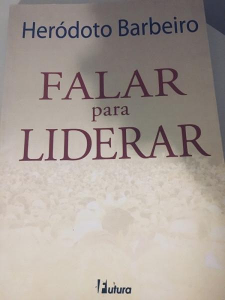 Capa de Falar para Liderar - Heródoto Barbeiro