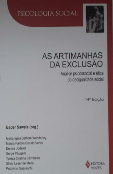 Capa de As artimanhas da exclusão - Bader Sawaia