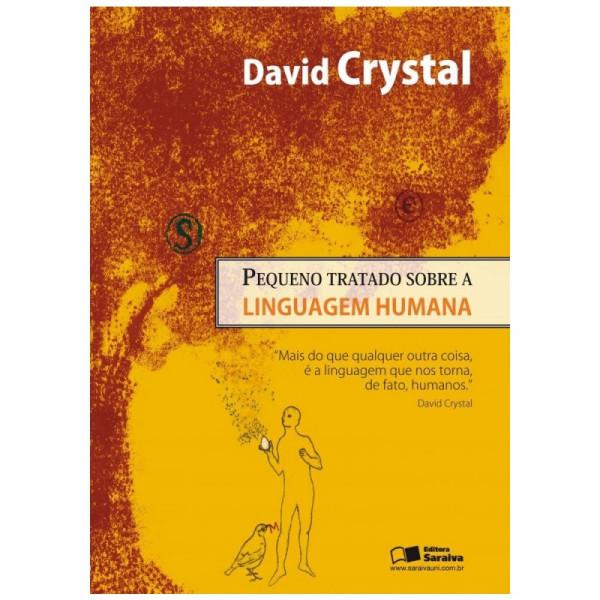 Capa de Pequeno tratado da linguagem humana - David Crystal
