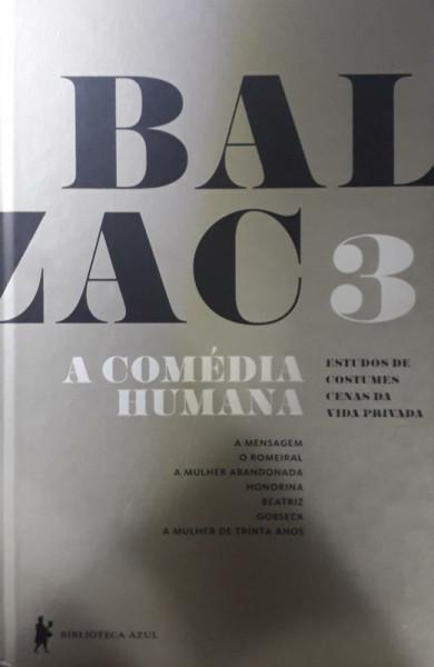 Capa de A comédia humana - Honoré de Balzac