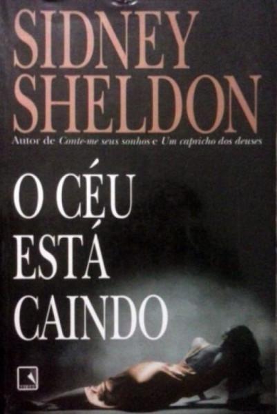 Capa de O céu está caindo - Sidney Sheldon