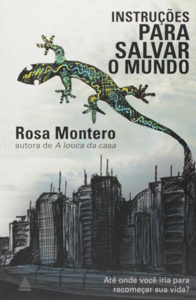 Capa de Instruções para salvar o mundo - Rosa Montero