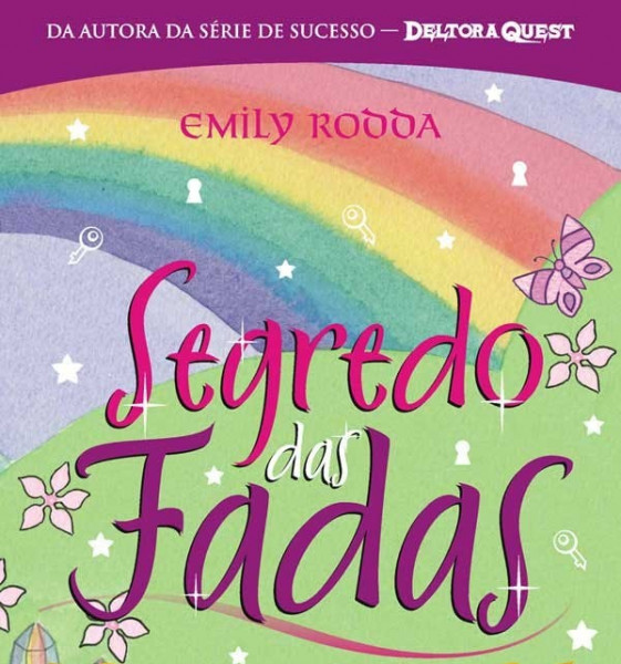 Capa de Segredo das fadas - Emily Rodda
