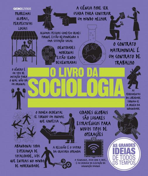 Capa de O livro da sociologia - Vários autores
