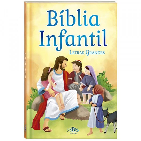 Capa de Bíblia Infantil -