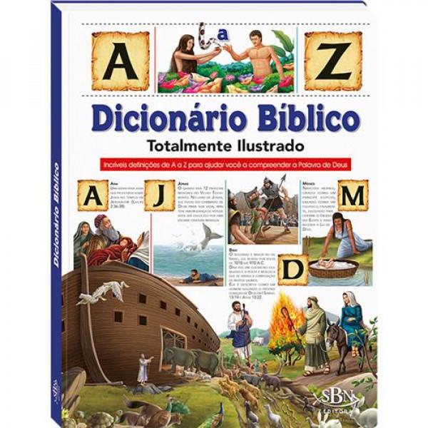 Capa de Dicionário bíblico totalmente ilustrado - Ruth Marschalek