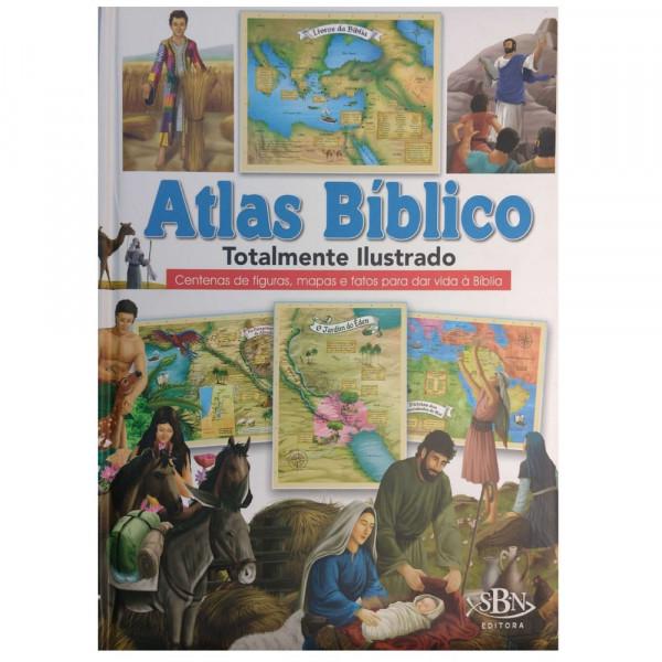 Capa de Atlas bíblico totalmente ilustrado - Ruth Marschalek