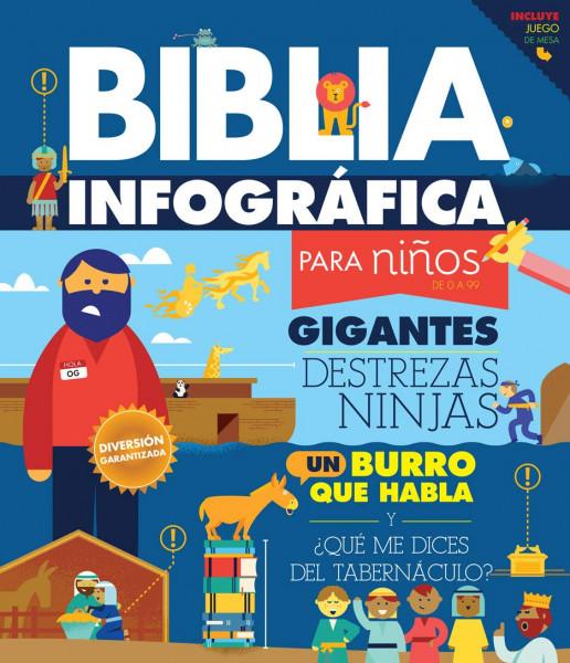 Capa de Infográficos da Bíblia - Ana Cristina de Mattos Ribeiro