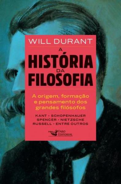 Capa de A História da Filosofia - Tomo II - Will Durant